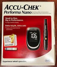 Accu-chek Performa Nano Glucose Monitor Meter mg/dL