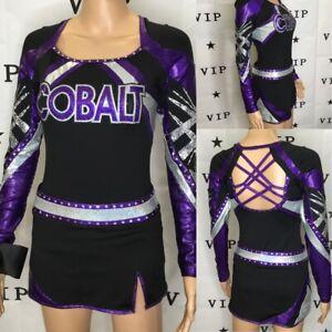 Cheerleading Uniform Allstar  Cobalt Adult SM