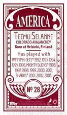 2003-04 Topps C55 Minis American Red #28 Teemu Selanne