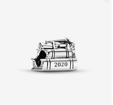 PANDORA GRADUATION BOOKS CHARM 2020 925 STERLING SILVER ALE