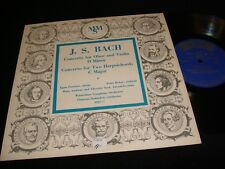 "BACH°OBOE CONCERTO<>E. PAROLARI<>(10"")33 Rpm Vinyl~USA Pressing<>MMS-77"