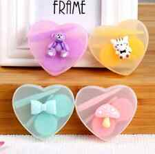 Mini Kit Case Contact Lens Cute Cartoon Travel Pocket Storage Holder Contain