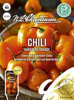 Paprika Peperoni Chili Habanero Orange Chrestensen Samen Saatgut Kräuter Gewürz
