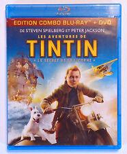 DVD BLU-RAY / LES AVENTURES DE TINTIN LE SECRET DE LA LICORNE - STEVEN SPIELBERG