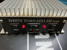 White Tornado 225 Plus 10 Meter linear Amplifier tested working