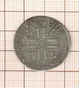 Uncommon, 1/4 Quarter D' ECU Of 8 THE / OF 1er Type 1692 X Amiens