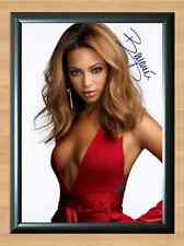 Beyonce Beyoncé Signed Autographed A4 Print Poster Photo cd Ticket shirt dvd