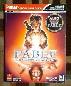 Fable The Lost Chapters Prima Official Strategy Game Guide PC/XBOX