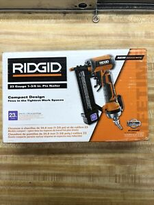 Compact Pin Nailer 23-Gauge 1-3/8 in. Headless with Dry-Fire Lockout Adjustable