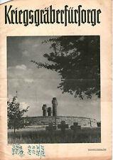 Zeitschrift 1950 November Kriegsgräberfürsorge Mitteilungen und Berichte