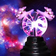 Hot Magic USB Sphere Lightning Lamp Light Party Black Base Glass Plasma Ball