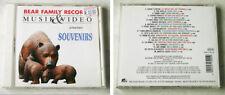 SOUVENIRS Dalida, Bibi Johns, Fats & His Cats,... 20 Track Bear Family CD TOP