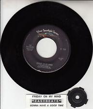 "THE EASYBEATS  Friday On My Mind 7"" 45 rpm record + juke box title strip NEW"
