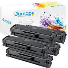 Lot de 5 Toners type Jumao compatibles pour Samsung SL-M2070W, Noir 1000 pages