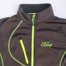 Choko Lethal Jacket Ford Men's M Full-Zip Fleece Black/Neon Green Trim