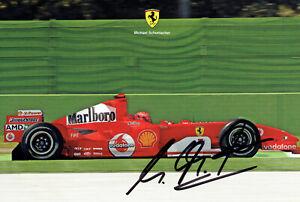 Michael Schumacher Autogrammkarte original signiert 10x15 cm