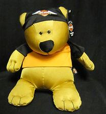 14 inch Harley Davidson Biker Club Huggable Bear with Shirt and Do Rag