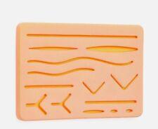 Suture Practice Medical Silicone 3 Layer Suturing Pad Human Skin Model Training