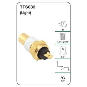 Tridon Engine Temp Switch TTS033 fits Holden F Series FB 2.3 138 (Grey), FC 2...