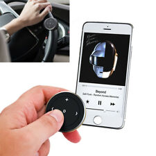Car Steering Wheel Bluetooth Media Audio Music Remote Control Button for iPhone