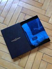 Ulysse Nardin Scarf 100% Merino Wool Extrafine Anchor Print Shawl With Box Rare