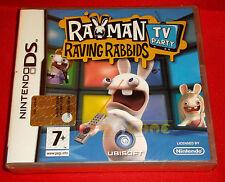 Rayman Raving Rabbids TV Party Nintendo DS Ubisoft