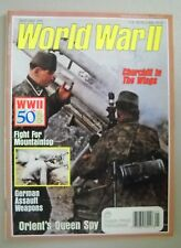World War II Magazine January 1990 ~ WW2 European Pacific Theaters Churchill