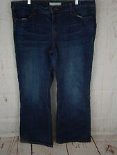 Levi Jeans Women's 590 Size 16 Short Boot-Cut Blue Sandblasted           205