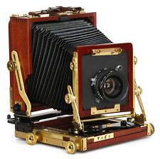 Toko 4x5 FL-452 Wood Field Camera w/Fujinon-W 150/5.6 Lens + Film Holders & Bag