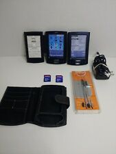 Palm Pilot Tungsten Blue Pda Organizers Charge, Case & Stylus + lot of 2 (B2)
