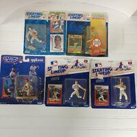 5 Starting Lineup MLB Texas Rangers Action Figures MLB Gonzalez Brown Parrish...