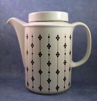 ARABIA OF FINLAND, Kartano, Vintage, Coffee Pot, Excellent Condition