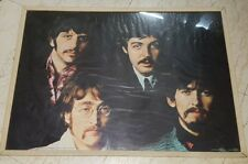 Old Vintage Big Size The Beatles Print Poster From England 1981