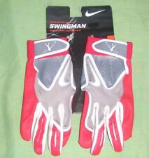 Nike Swingman Baseball Batting Gloves Youth Sizes, Red, New