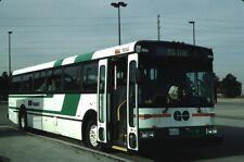 Go Transit New Flyer bus Kodachrome original Kodak slide