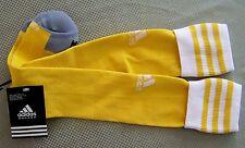 Adidas Soccer Socks 1 pr Copa Zone Cushion Yellow-White w/Yellow stirpes L  #14