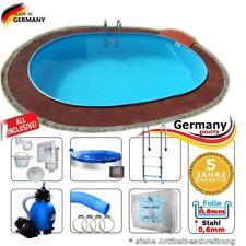 Gut gemocht Ovale Stahlwand-Schwimmbecken günstig kaufen | eBay IQ12