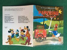 Walt DISNEY - PAPERINO E LE NOCCIOLINE Un piccolo libro d'argento Mondadori 1983