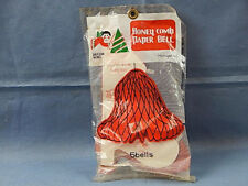 Package of 5 Honey Comb Paper Bells Brand New in the Package