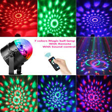 RBG Disco  Ball, Small magic ball lamp With remote control  7 different color