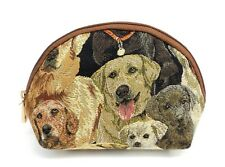 Puppy Dog Travel Makeup Bag Cute Cosmetic Bag Pouch Toiletry Tapestry Bag