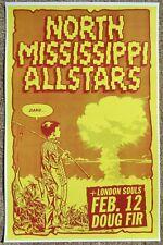 North Mississippi Allstars 2013 Gig Poster Portland Oregon Concert
