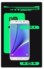 Glow in the Dark Skin Protector,Full Body Vinyl Decal Case Wrap, Samsung Note 5