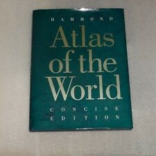 ATLAS OF THE WORLD by HAMMOND INCORPORATED - 1993 HC DJ *Excellent* 232 pages