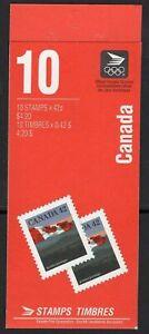 Canada Booklet BK137b & 138b Flag MNH Open