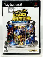 Capcom Classics Collection Volume 2 - PS2 - Brand New | Factory Sealed
