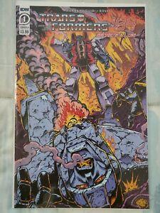 IDW Transformers '84 Secrets & Lies #1 Cover A Guidi