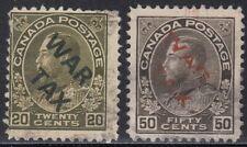 Canada 1915 War Tax MR2C MR2D forgery, counterfeit, fake, facsimile.