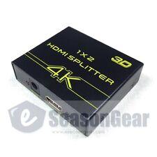 V-King VK-102A 1X2 Mini 2-Port Ultrahd 4K x 2K 1080P 4K HDMI 3D Splitter