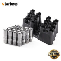 For LS7 LS2 16pcs Performance Hydraulic Roller Lifters & 4 Guides 12499225 HL124